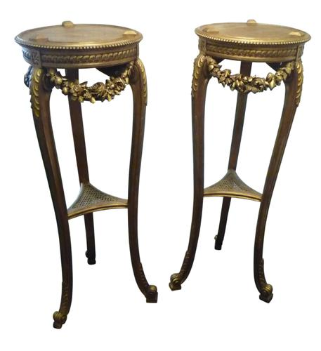 Pair of Carved Gilt Torcheres C.1890 (1 of 1)