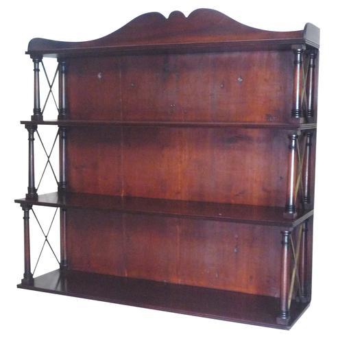 Fine Regency Mahogany Wall Shelves (1 of 1)