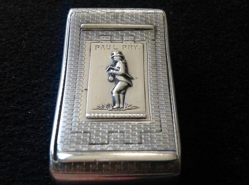 Rare Antique Silver Triple Snuff Box (1 of 1)