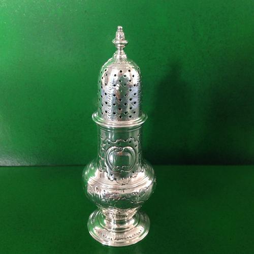 George III Antique Silver Caster (1 of 1)