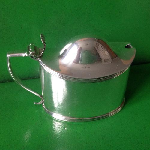 Antique Georgian Silver Mustard Pot - Bateman 1808 (1 of 1)