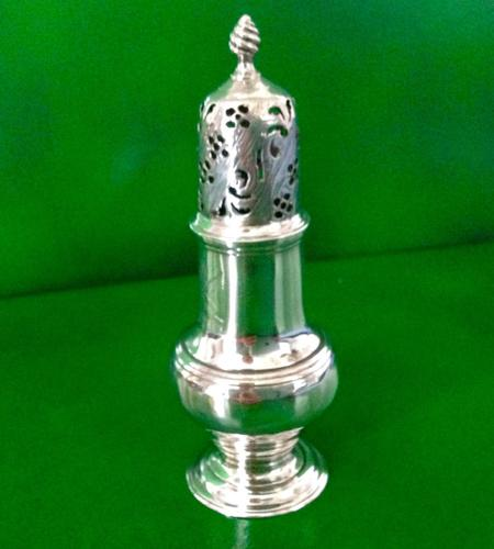 Antique Georgian Silver Muffineer - 1760 (1 of 1)