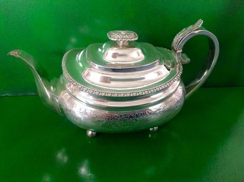 Antique Georgian Silver Teapot - 1819 (1 of 1)