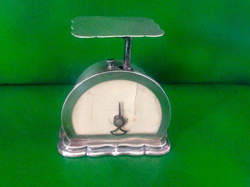Antique Edwardian Silver Postal Scales - 1909 (1 of 5)