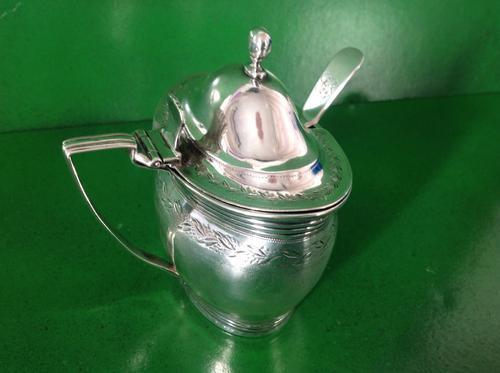 Antique Georgian Silver Mustard Pot - 1802 (1 of 1)