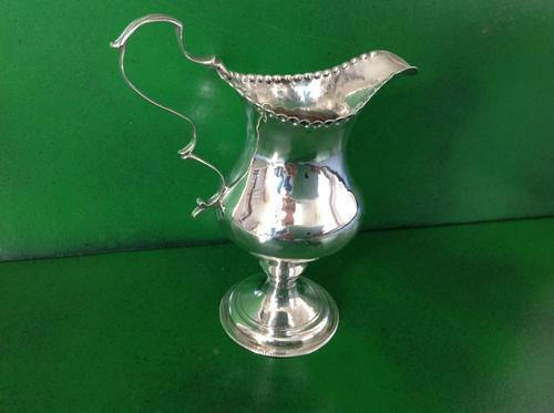 Hester Bateman Antique Georgian Silver Creamer (1 of 1)