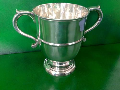 Large Antique Georgian Silver Loving Cup (1 of 1)