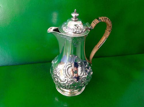 Antique Victorian Silver Hot Water / Coffee Pot - 1859 (1 of 1)