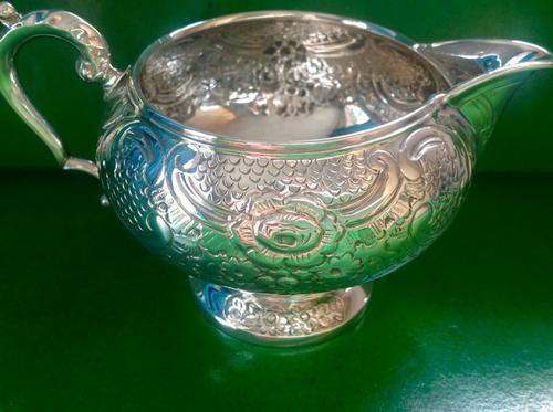Antique Silver Jug / Creamer - 1924 (1 of 4)
