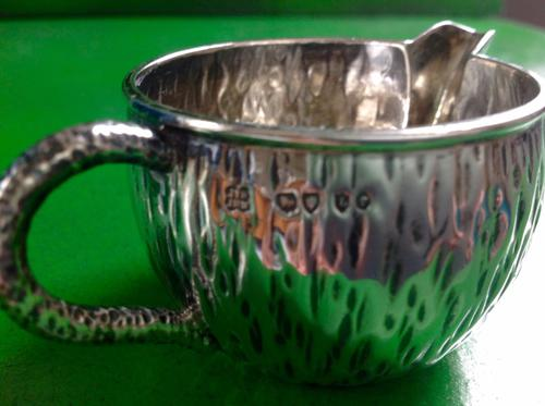Antique Victorian Silver Creamer - 1886 (1 of 1)