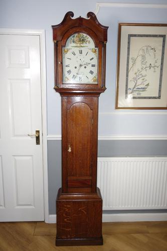 Late 18th Century George III John Cook of Whitchurch Hants 8 Day Grandfather Longcase Clock (1 of 10)