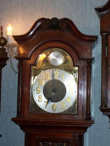 Quality Mahogany Weight Driven Westminster 18th Century Style Longcase (1 of 1)