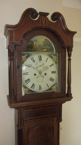 8 Day Peterborough Longcase Clock c.1830 (1 of 1)