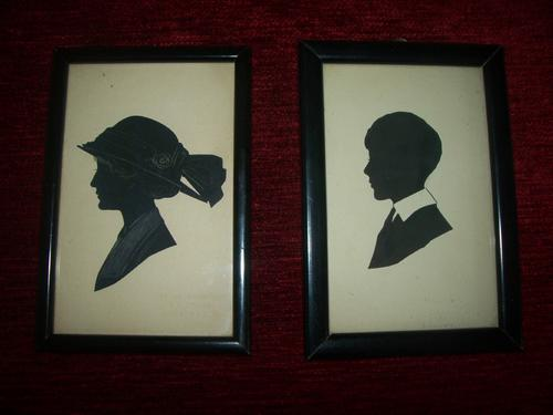 Pair of Silhouettes by Handrup (1 of 1)
