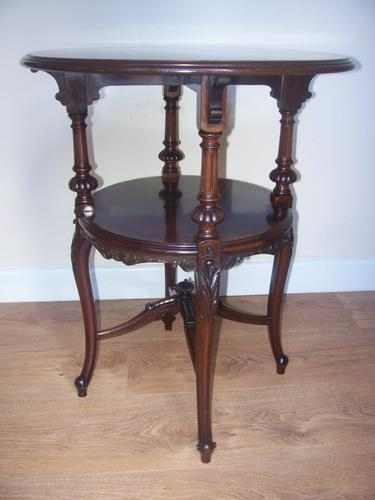 Gillows Quality Mahogany Lamp / Wine / Occasional Table (1 of 1)