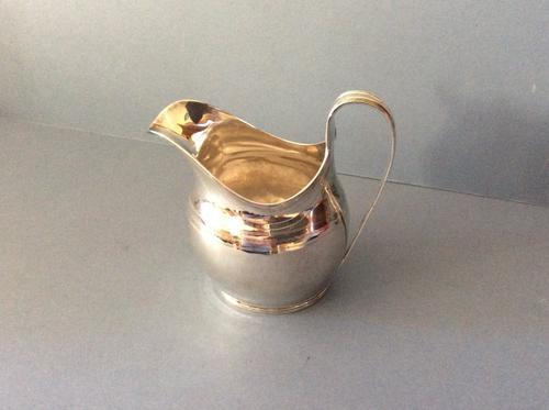 Antique Solid Silver Georgian Cream Jug 1799 (1 of 1)