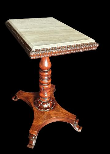 Exceptional William IV Occasional Table Marble Top (1 of 7)