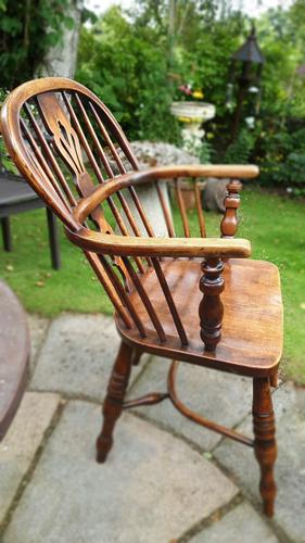 Early 19th Century George III Windsor Chair (1 of 6)