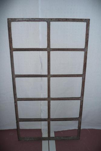Cast Iron Window Frame C.1850 (1 of 5)
