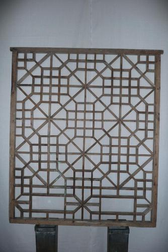 19th Century Astragal Wooden Screen (1 of 5)