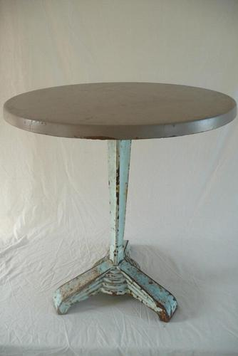 French Art Deco Cafe Table C.1920 (1 of 6)