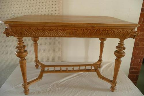 Carved Pine Centre Table c.1880 (1 of 6)