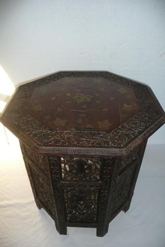 Moorish-Anglo Indian Table (1 of 6)