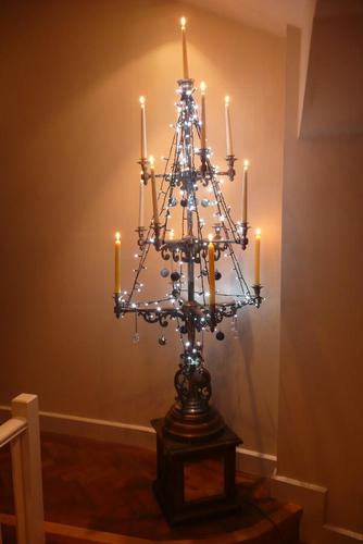 Pair of Very Large Candelabra (Late 19C.) (1 of 8)