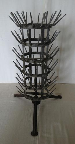 French Revolving Bottle Drying Rack Late 19th Century (1 of 14)