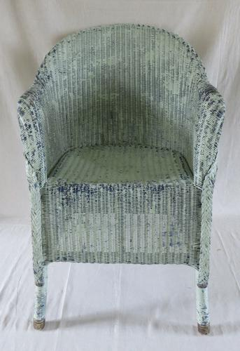 Vintage Lloyd Loom Armchair c.1926-1941 (1 of 18)