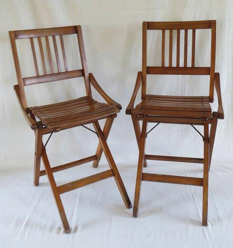 """A Pair of """"Brevetti Reguitti """" Chairs  C.1950 (1 of 21)"""