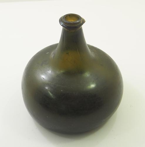 Rare Late 17th Century Onion Wine Bottle (1 of 1)