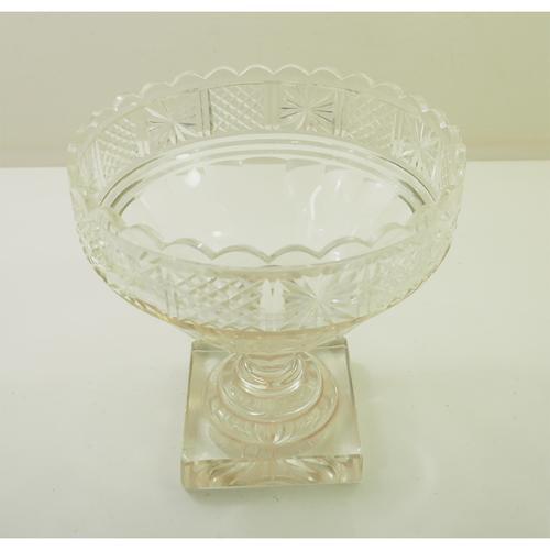 Fine Georgian Cut Glass Punch Bowl c.1830 (1 of 1)