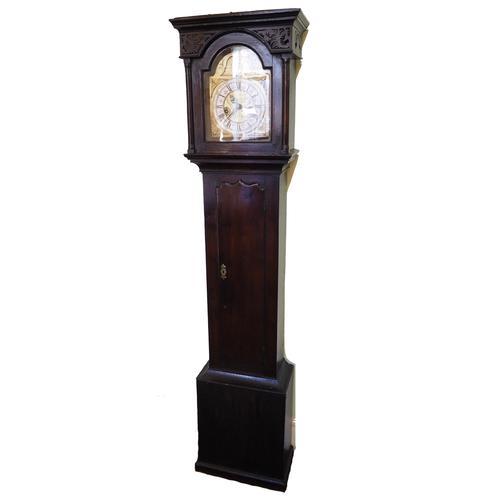 """Rare, Unique 8"""" Scottish Longcase Clock c.1725 (1 of 1)"""