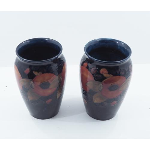 Stunning Pair of Large Early Moorcroft Vases c.1920 (1 of 9)