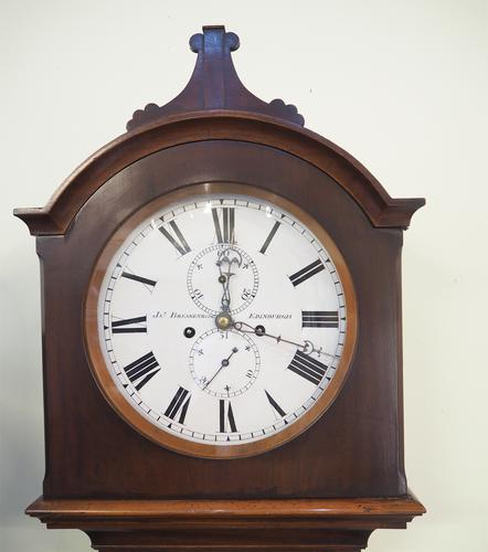 Fine Scottish Mahogany 8 Day Longcase Clock (1 of 1)