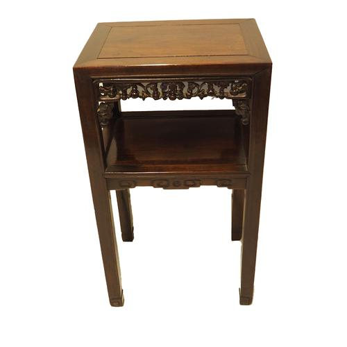 Good 19th Century Chinese 2 Tier Table (1 of 1)