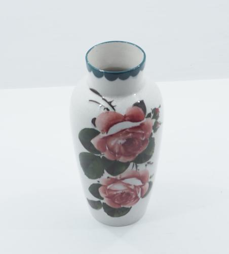 Scottish Wemyss Cabbage Roses Japan Vase c.1900 (1 of 1)