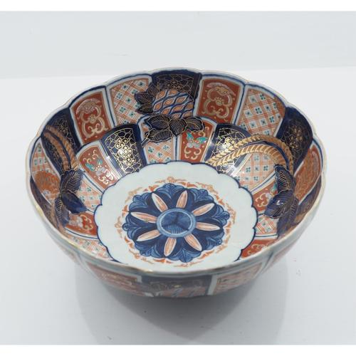 19th Century Japanese Imari Style Bowl (1 of 1)