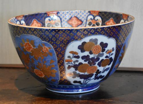 Superb Large Fukagawa Porcelain Bowl (1 of 11)
