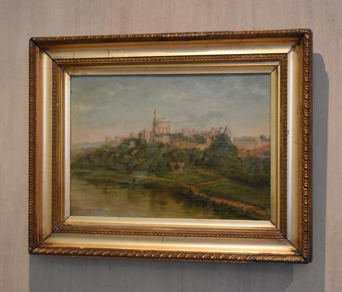 Oil Painting of Windsor Castle by William Matthews (1 of 8)