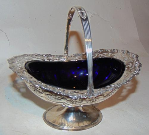 Edwardian Silver Basket (1 of 6)