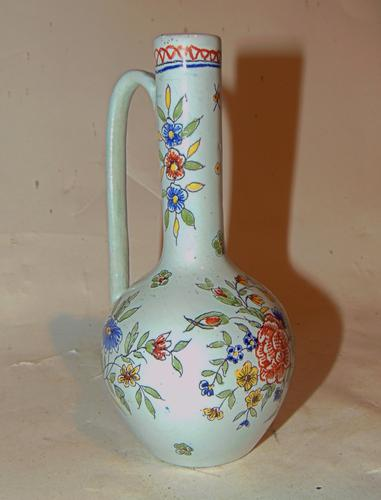 18th Century French Faience Tall Bottle (1 of 6)