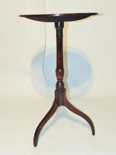 Georgian Mahogany Tripod Wine Table (1 of 5)