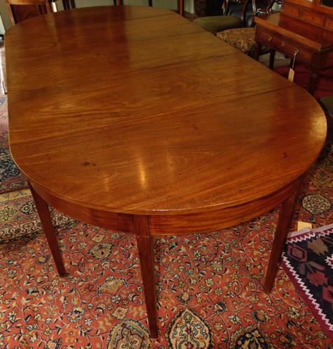 Georian Mahogany Dining Table (1 of 11)