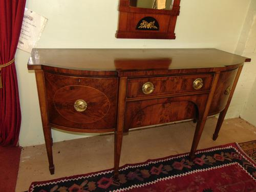Georgian Style Mahogany Sideboard c.1880 (1 of 12)