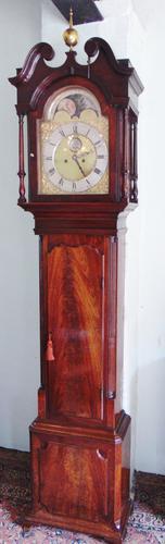 Georgian Mahogany Longcase Clock (1 of 15)
