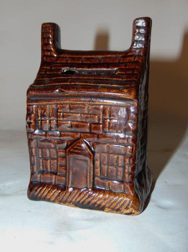 Treacle Glazed Money Box c.1830 (1 of 5)