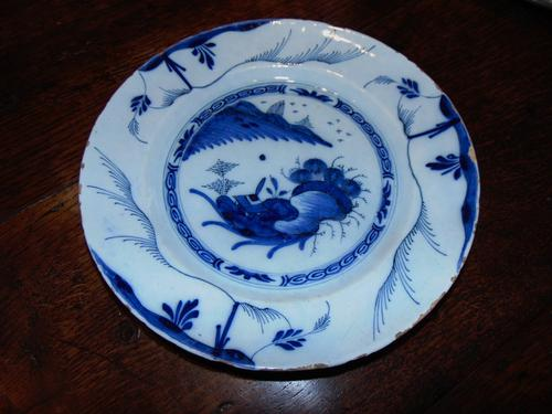 18th Century Bristol Delft Dish (1 of 5)