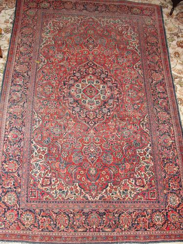 Fine Persian Kashan Rug c.1910 (1 of 1)